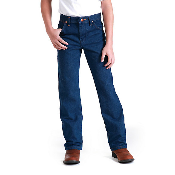 Young Men S Wrangler 174 Cowboy Cut 174 Original Fit Jean 25 30