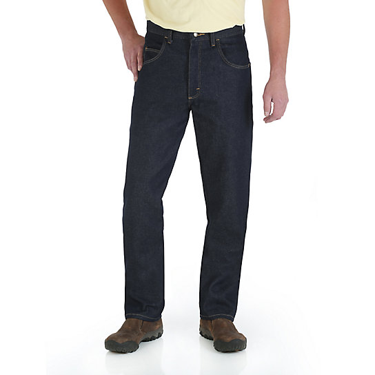 Wrangler Rugged Wear® Relaxed Fit Jean - Denim (Big Sizes)