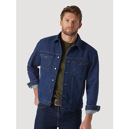 Wrangler® Western Unlined Denim Jacket