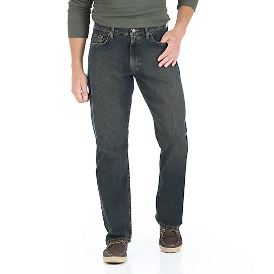 Wrangler® Five Star Relaxed Straight Jean - Premium Finishes