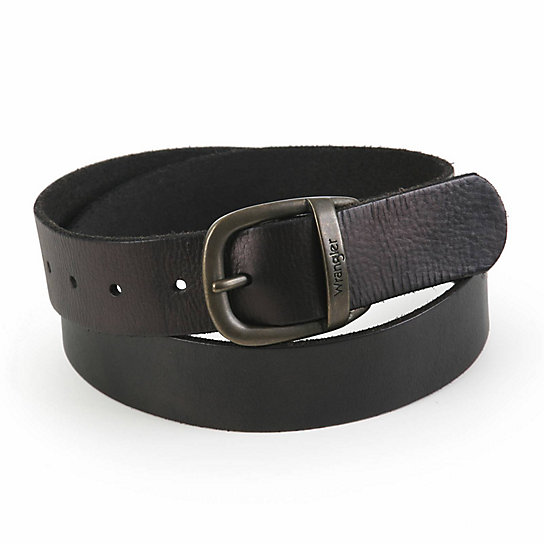 Wrangler® Men's Full Grain Leather Belt