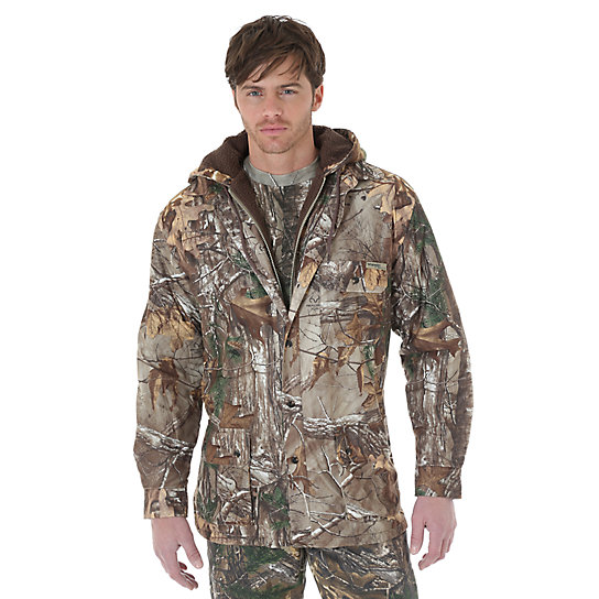 Wrangler ProGear® Realtree Xtra™ Fleece Lined Camo Jacket
