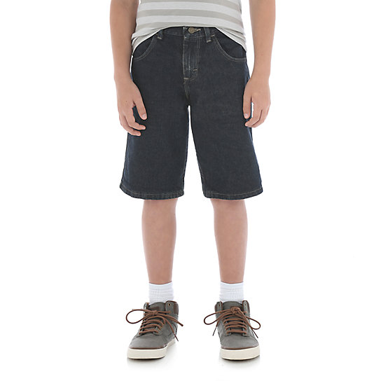 Rustler® by Wrangler®  - Relaxed Fit Short Big Boy - Steel