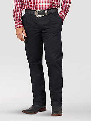 Men's Wrangler Casuals® Pleated Front Relaxed Fit Pants