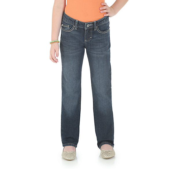 Girl's Classic Straight Fit Jean (7-16)