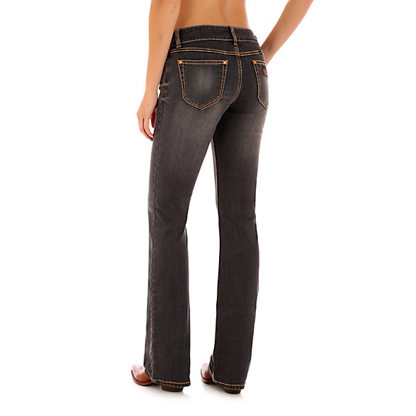 Low Rise Boot Cut Jean
