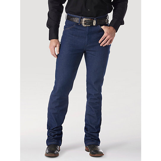 Wrangler® Cowboy Cut® Boot Jean Rigid - Slim Fit Jean | Mens Jeans