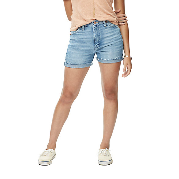 Women's Distressed Heritage Short