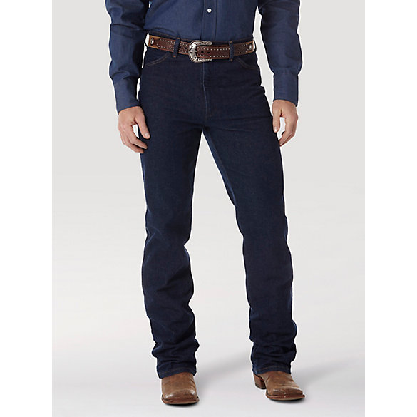 Wrangler® Cowboy Cut® Navy Stretch Slim Fit Jean