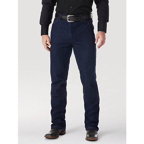Wrangler® Cowboy Cut® Boot Cut Stretch Regular Fit (Tall Sizes)