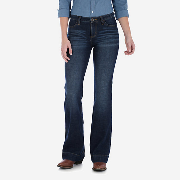 Women's Wrangler Retro® Mae Wide Leg Trouser Jean