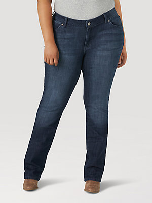 Women's Straight Leg Jean (Plus)