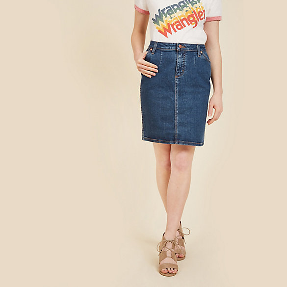 Modcloth x Wrangler® Denim Skirt