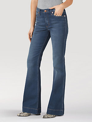 Women's Wrangler Retro® Premium High Rise Trouser Jean