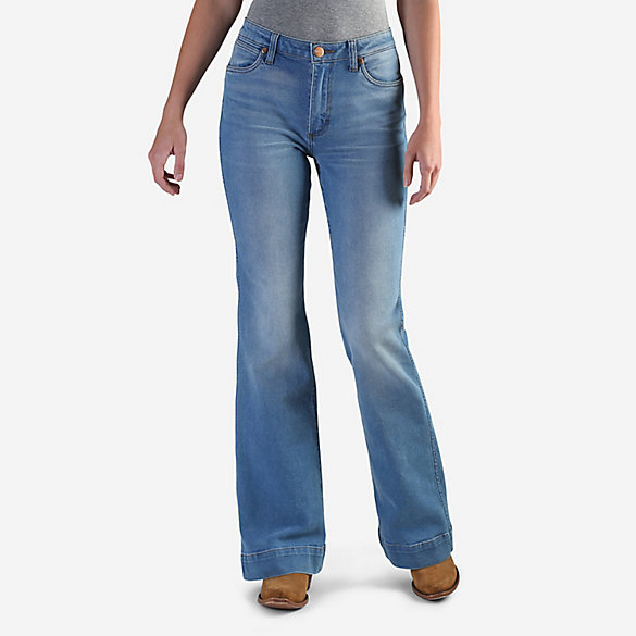 3f5fedd887b Women s Wrangler Retro® Premium High Rise Trouser Jean
