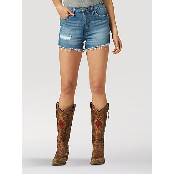 Women's Wrangler Retro® High Rise Cut-Off Short