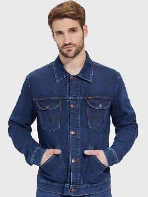 Wrangler Icons 124mj Men S Denim Jacket With Indigood