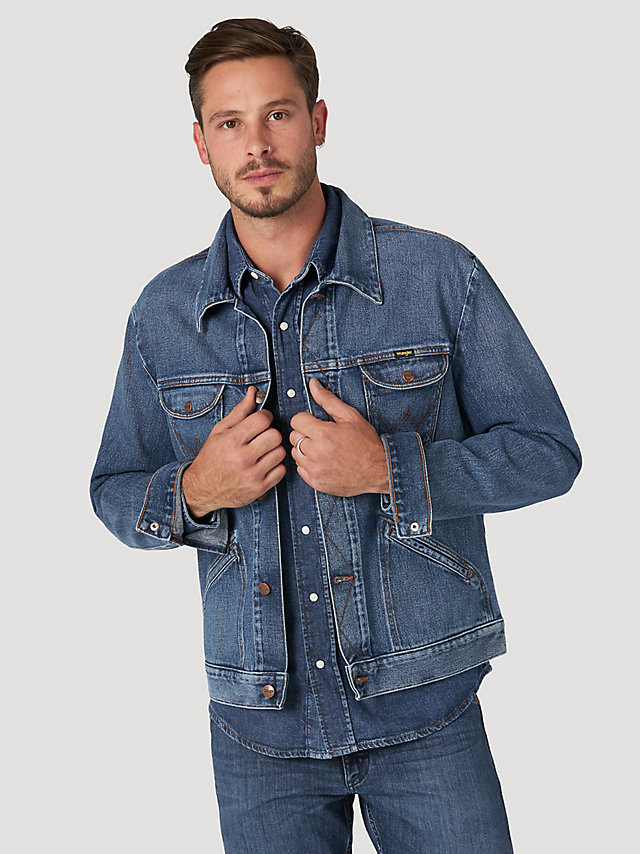 Wrangler ICONS™ 124MJ Men's Denim Jacket with Idigood™