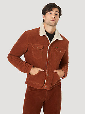 Wrangler ICONS™ 124MJ Men's Sherpa Corduroy Jacket