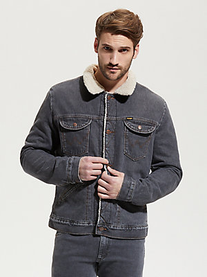 Wrangler ICONS™ 124MJ Men's Sherpa Denim Jacket