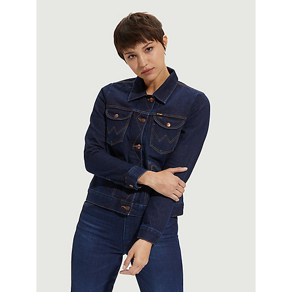 Wrangler ICONS™ 124WJ Women's Denim Jacket with Indigood™