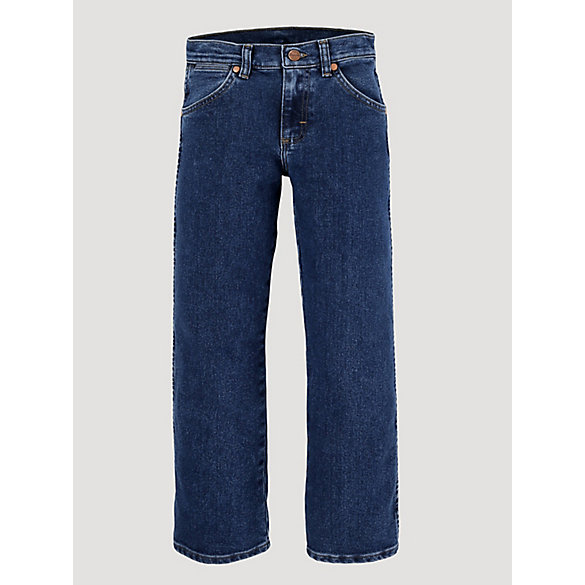 Boy's Wrangler® Cowboy Cut® Original Fit Active Flex Jean (8-16)