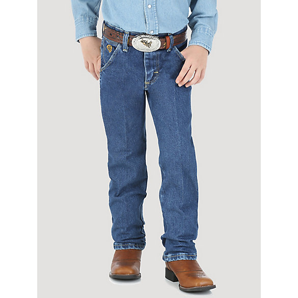Boy's George Strait Cowboy Cut® Collection by Wrangler® Original Fit Jean (8-16)