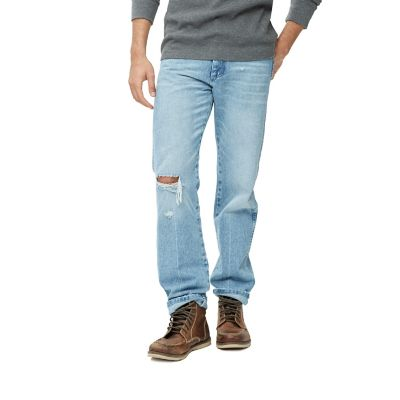 Men S Distressed Heritage Jean Mens Jeans By Wrangler 174
