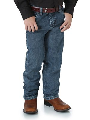 Boy S Wrangler 174 Cowboy Cut 174 Original Fit Jean 8 16