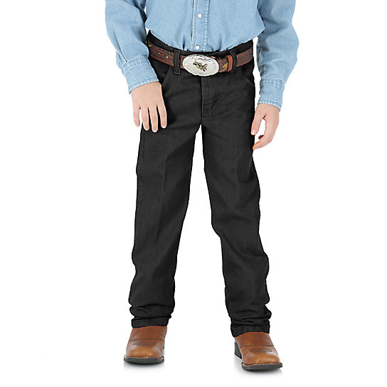 Boy's Wrangler® Cowboy Cut® Original Fit Jean (1T-3T)