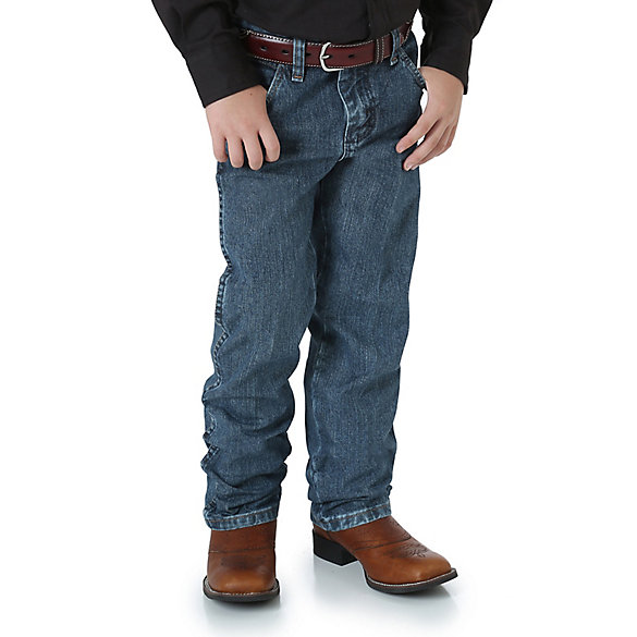 Boy's Wrangler® Cowboy Cut® Original Fit Jean (4-7)