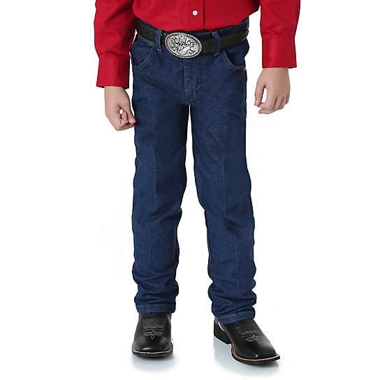 Boy's Prewashed Cowboy Cut® Original Fit Jean (4-7)