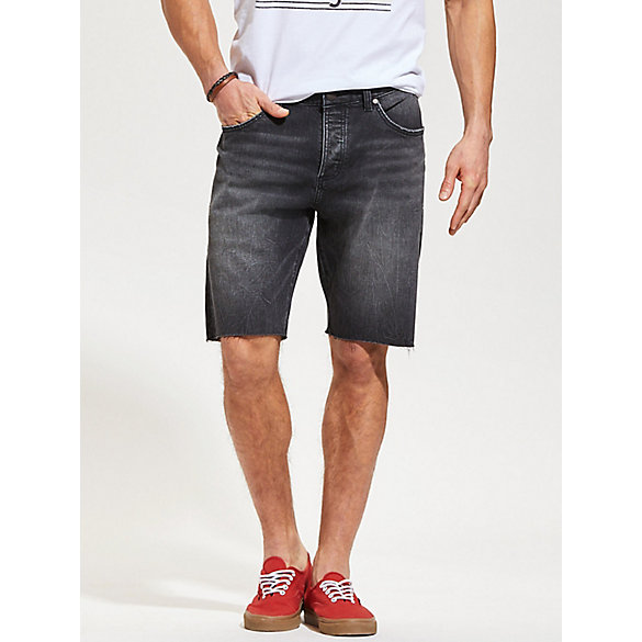 Men's Five Pocket Cut Off Denim Short