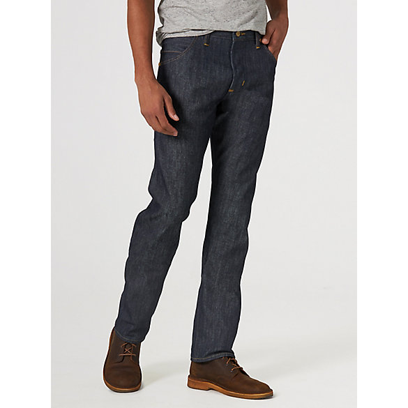Wrangler® 27406 Men's Rigid Selvedge Straight Leg Jean