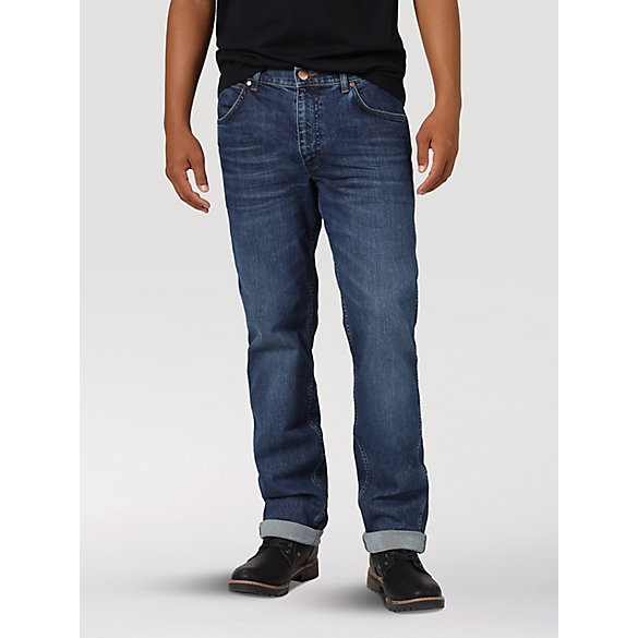 Men's Wrangler® Greensboro Straight Leg Jean with Indigood™