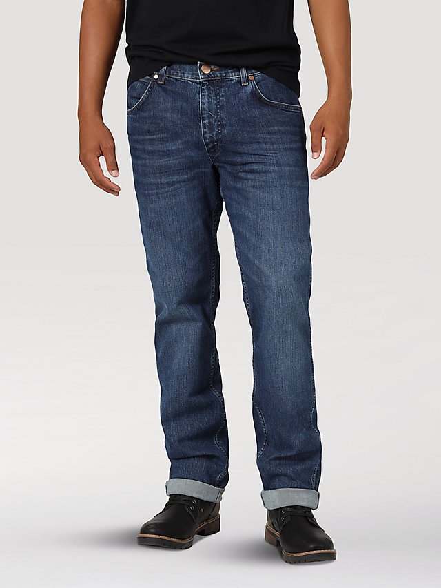 Men's Wrangler® Greensboro Straight Leg Jean with Indigood™
