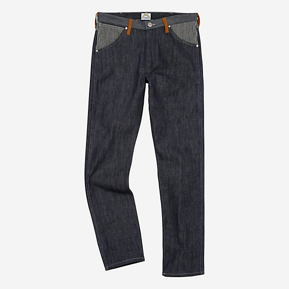 Peter Max™© x Wrangler® Men's Pieced Denim Retro Straight Fit Jean
