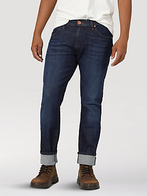 Men's Wrangler® Larston Slim Tapered Jean with Indigood™