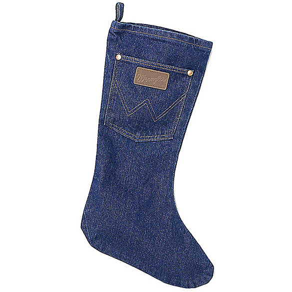 wrangler denim christmas stocking - Blue Christmas Stocking