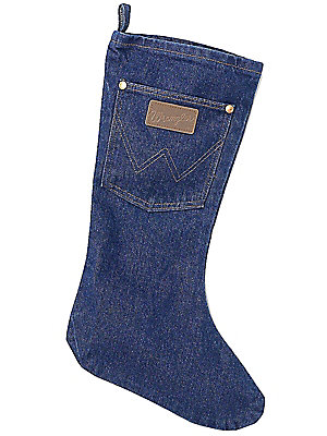 Wrangler® Denim Christmas Stocking