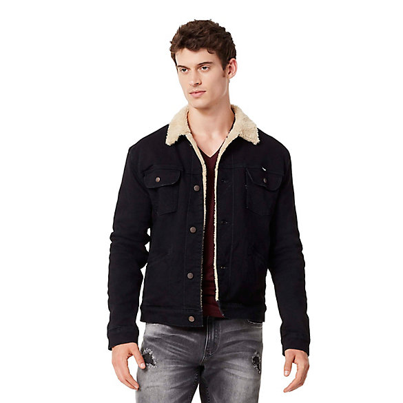 Men's Heritage Sherpa Lined Denim Jacket