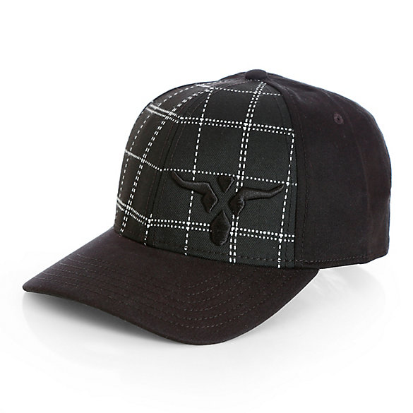 Men's Wrangler® 20X® Plaid Front Cap with Steerhead Logo