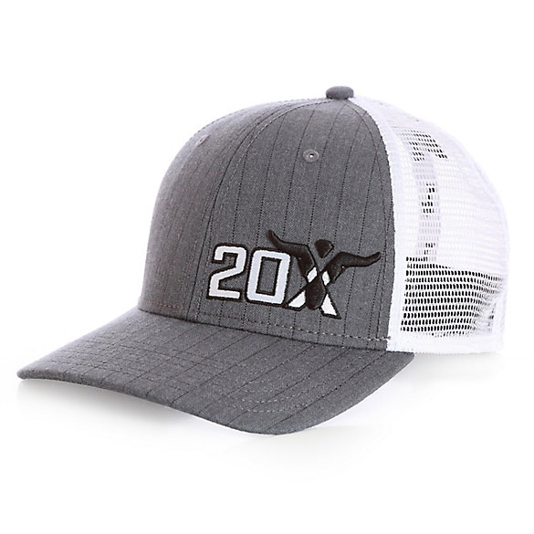 Boy's Wrangler® 20X® Herringbone Trucker Cap with Steerhead Logo