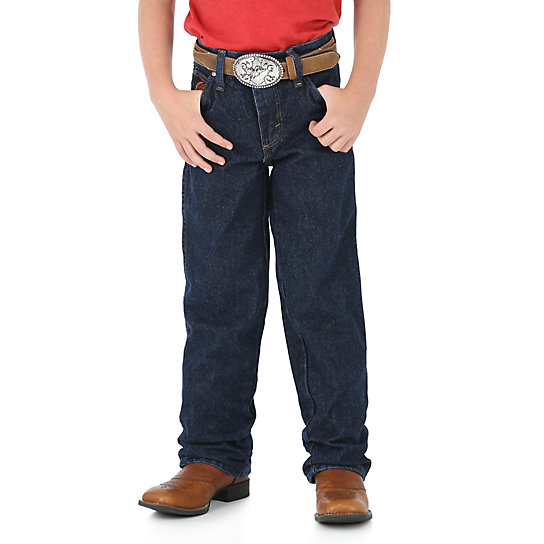 Boy's Wrangler® 20X® Relaxed Fit Jean (4-7)