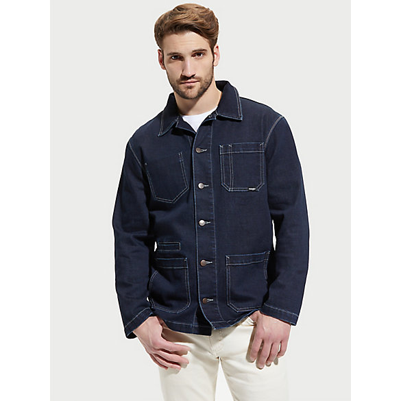 Men's Slim Fit Denim Barn Jacket