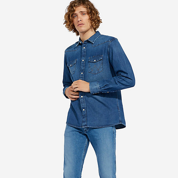 Wrangler ICONS™ 27MW Men's Denim Shirt