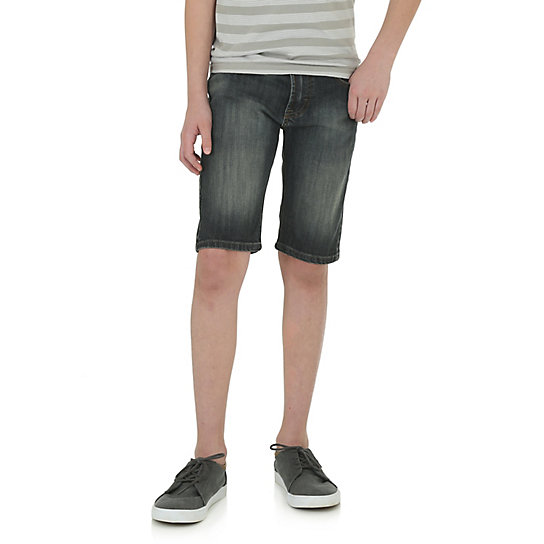 Boy's Wrangler Jeans Co. Stretch Shorts (Husky)