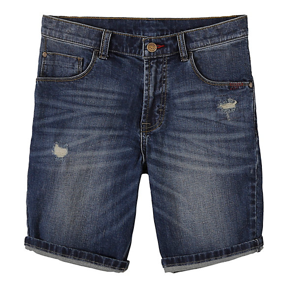 Boy's 5-Pocket Slim Straight Denim Short (Husky)