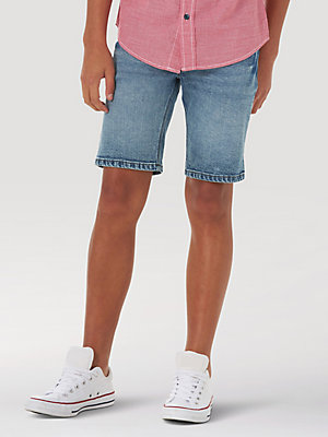 Boy's Wrangler® Stretch Denim Short