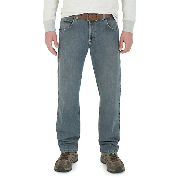 Wrangler Rugged Wear® Regular Fit Straight Leg Jean